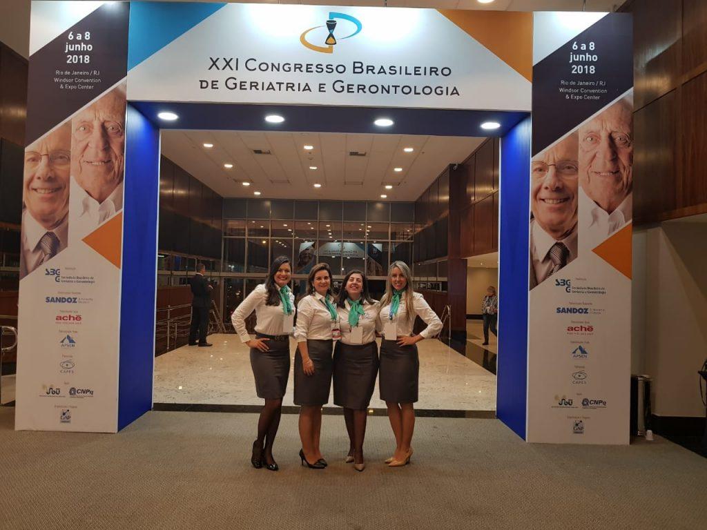 equipe Humalin no congresso