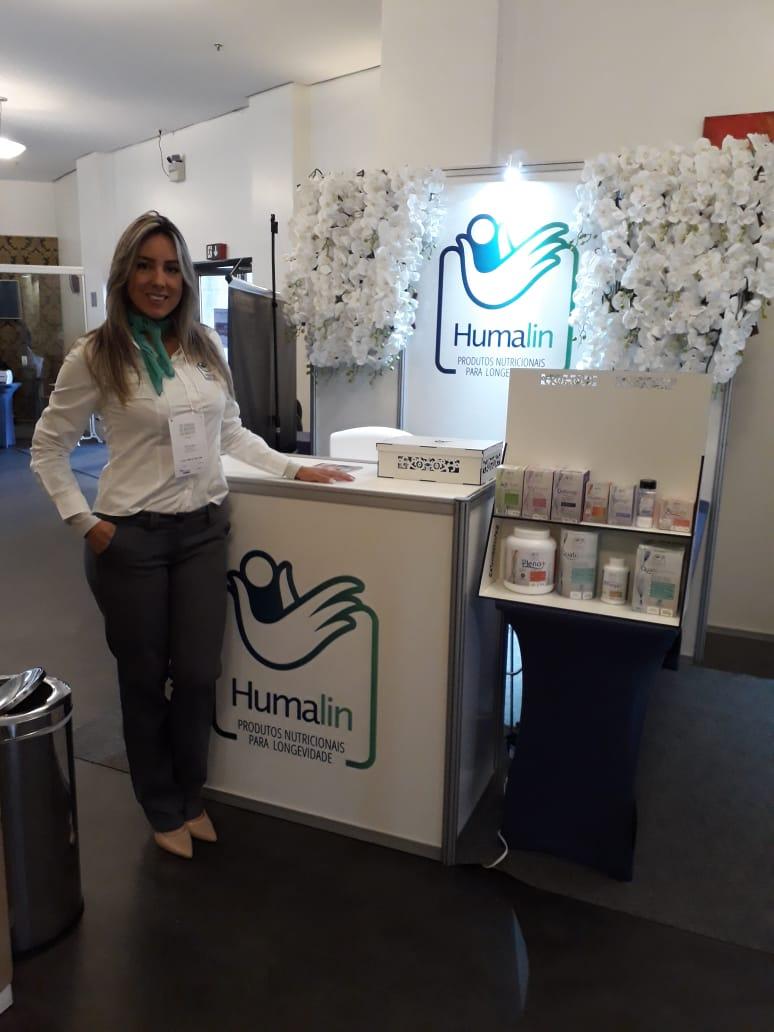 Ana Clara Ribeiro representa a Humalin na 20ª Jornada de Inverno SBGG-RS