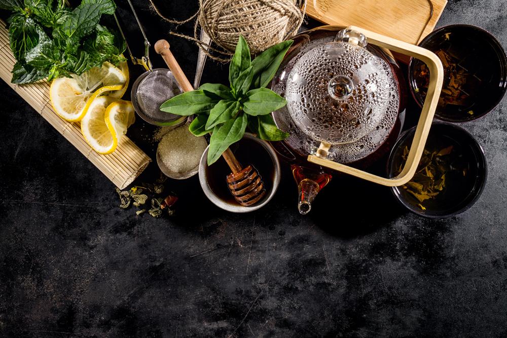 Chá X Ação antioxidante